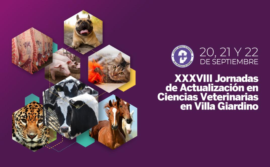 XXXVIII Jornadas de Actualización en Ciencias Veterinarias 2019